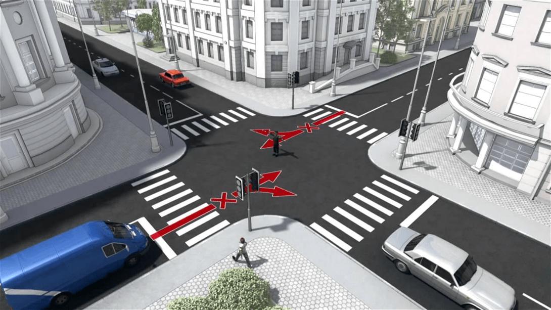 ілюстрації дорожніх ситуацій